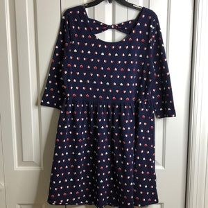 NWT Forever 21 size 2X red white and blue dress